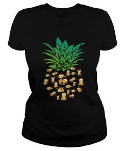 Ladies Tee Sloth Pineapple shirt