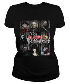 Ladies Tee The Bloody Bunch Horror Shirt