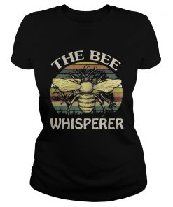 Ladies Tee The bee whisperer vintage shirt