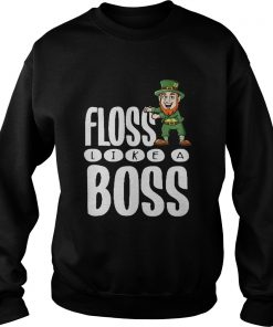 Leprechaun floss like a boss Sweater
