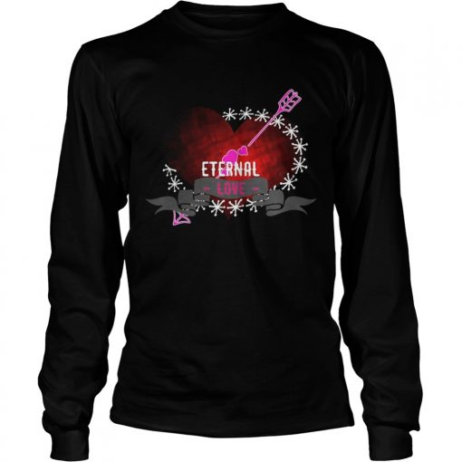 Longsleeve Tee Eternal love heart forever Shirt