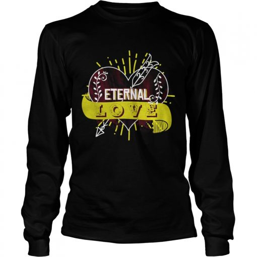 Longsleeve Tee Eternal love you heart forever Shirt