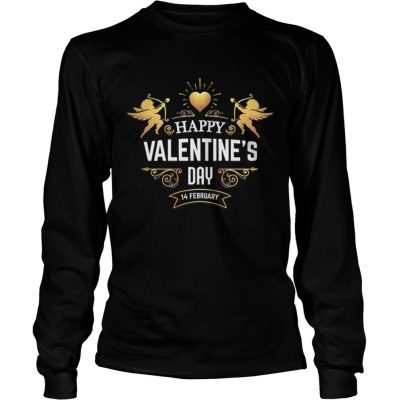 Longsleeve Tee HAPPY VALENTINES DAYValentines Day Shirt