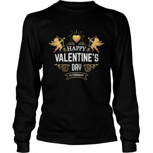 Longsleeve Tee HAPPY VALENTINES DAYValentines Day Shirt