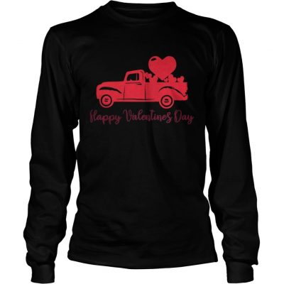 Longsleeve Tee Happy Valentines Day Valentines Day Shirt