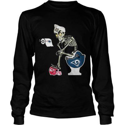 Longsleeve Tee Jeff Dunham Puppet New Orleans Saints toilet shirt