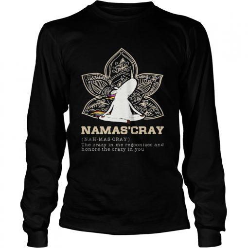 Longsleeve Tee Unicorn yoga Namascray shirt