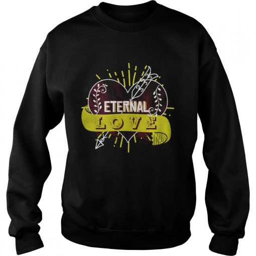 Sweatshirt Eternal love you heart forever Shirt
