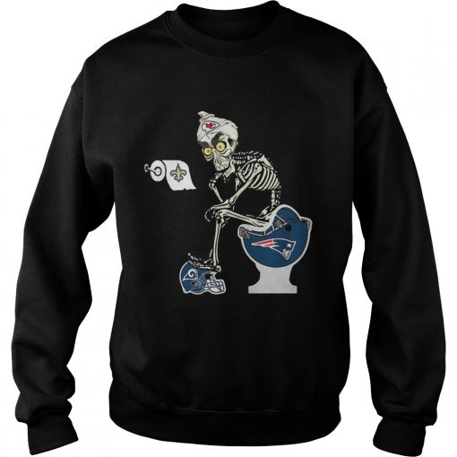 Sweatshirt Jeff Dunham Puppet Kansas City Chiefs toilet shirt