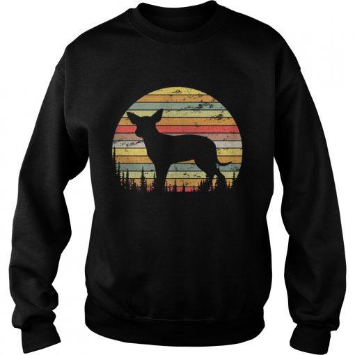 Sweatshirt Mexican Hairless Dog Retro 70s Vintage Dog Shirt