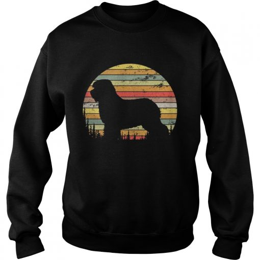 Sweatshirt Old English Sheepdog Dog Retro 70s Vintage Dog Shirt