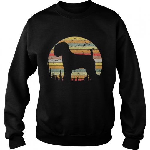 Sweatshirt Soft Coated Wheaten Terrier Dog Retro 70s Vintage Shirt
