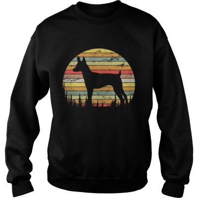 Sweatshirt Toy Fox Terrier Dog Retro 70s Vintage Dog Lover Shirt