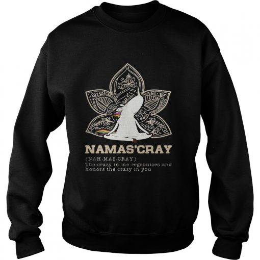 Sweatshirt Unicorn yoga Namascray shirt