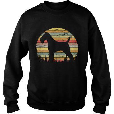 Sweatshirt Wire Hair Fox Terrier Dog Retro 70s Vintage Dog Shirt