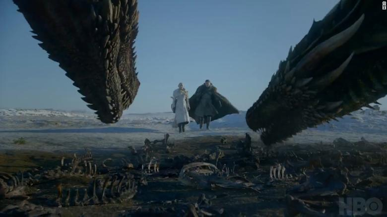 Game of Thrones trailer for the final season brings the dead to Winterfell