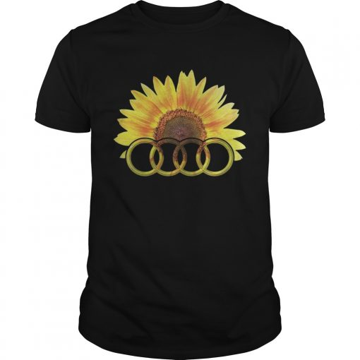 Guys Audi Sunflower shirt