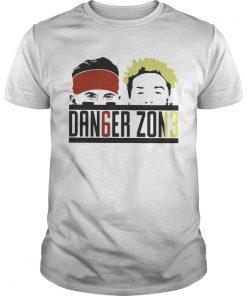 Guys Baker Mayfield and Odell Beckham JR Danger Zone shirt