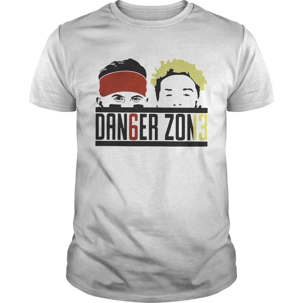 2a705fdd090 Baker Mayfield and Odell Beckham JR Danger Zone shirt - Kingteeshop