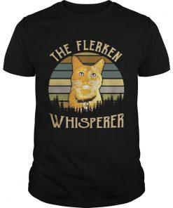 Guys Cat the Flerken Whisperer sunset shirt