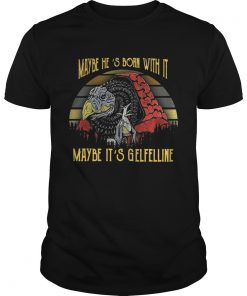 Guys Dark Crystal Maybe Hes born with it maybe Its Gelfelline sunset shirt