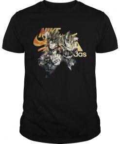 82d812ccb62 The product is already in the wishlist! Browse Wishlist · Guys Dragon Ball  Goku Nike and Vegeta Adidas shirt
