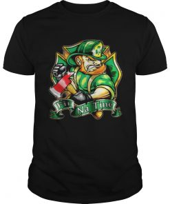Guys Fir na tine Irish Firefighter shirt
