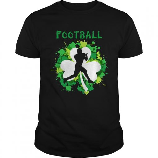 Guys Football Shamrock Irish St Pattys Day Sport Shirt For Football Lover shirt