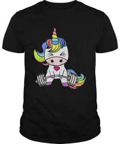 Guys Gym baby Unicorn shirt