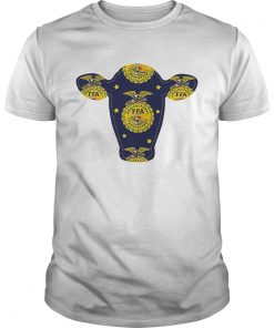 Guys Kiel Agricultural Education FFA Alumni uterus shirt