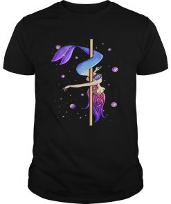Guys Mermaid pole dancing shirt