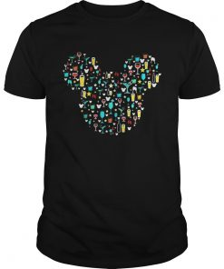Guys Mickey Mouse Disney wine beer witch cocktails shirt