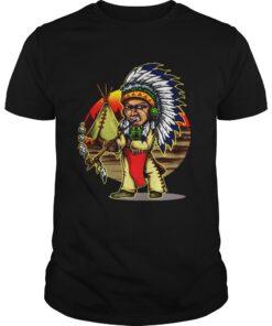 Guys Native American Chieftain shirt