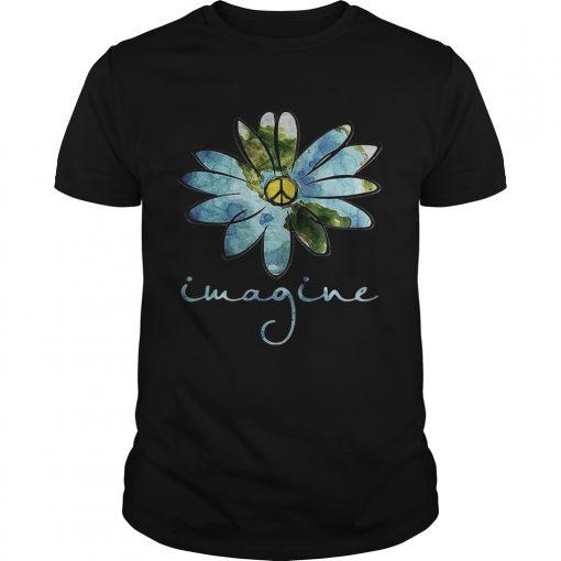 Guys Sunflower imagine shirt