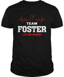 Guys Team Foster lifetime shirt