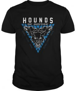 Guys The Shield Hounds of Justice Authentic shirt