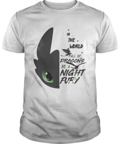 Guys Toothless in the world full of Dragons be a Night Fury shirt