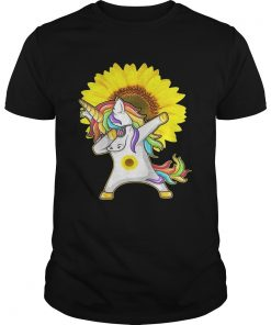 Guys Unicorn sunflower shirt