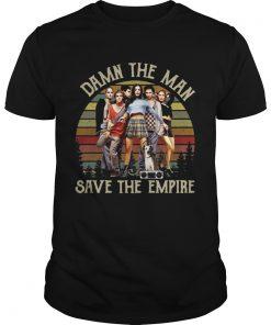 Guys Vintage Damn The Man Save The Empire Records Shirt