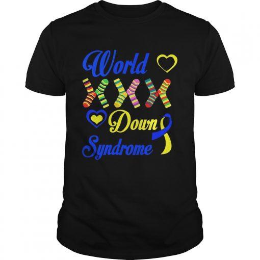 Guys World XXX down syndrome shirt