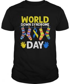 Guys World down syndrome day shirt