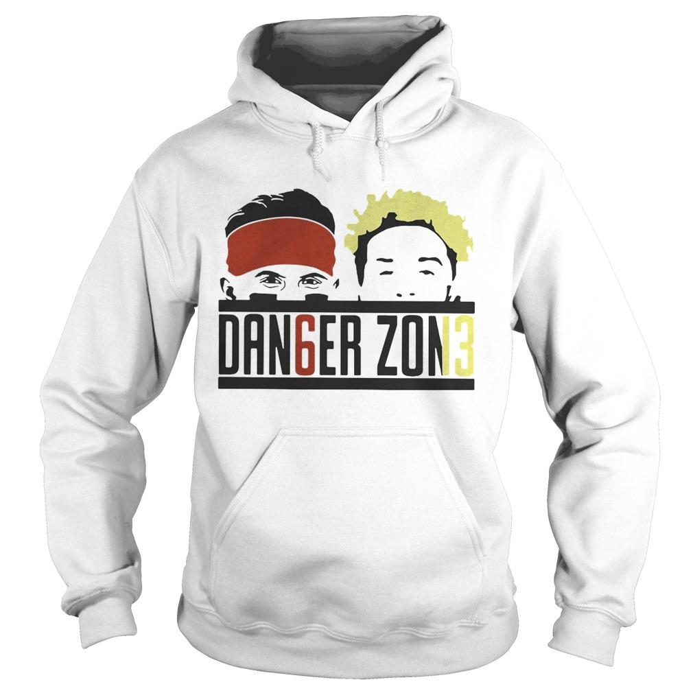 new style 20bac b45b1 Baker Mayfield and Odell Beckham JR Danger Zone shirt