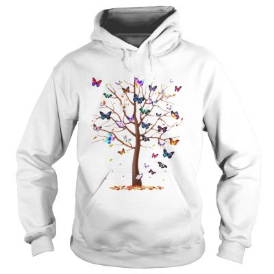 Hoodie Family Butterfly tree for lost people shirt