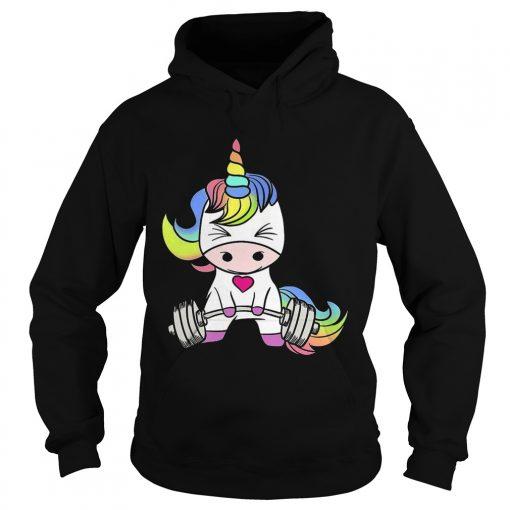 Hoodie Gym baby Unicorn shirt