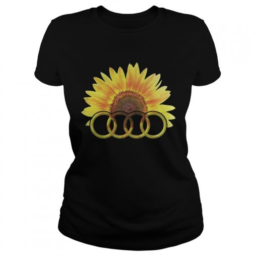 Ladies Tee Audi Sunflower shirt