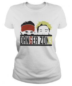 Ladies Tee Baker Mayfield and Odell Beckham JR Danger Zone shirt