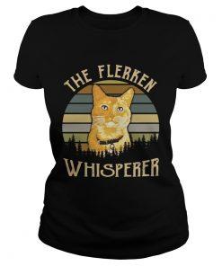 Ladies Tee Cat the Flerken Whisperer sunset shirt