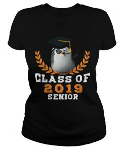 Ladies Tee Class of 2019 Senior High School Graduation TShirt