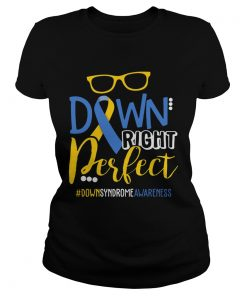 Ladies Tee Down Right Perfect Shirt