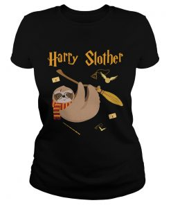 Ladies Tee Harry Potter sloth Harry Slother shirt